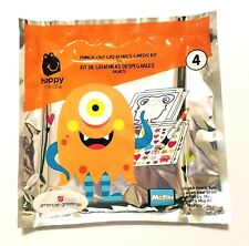 McDonald's Happy Meal Punch-Out Creatures Cards Kit Toy