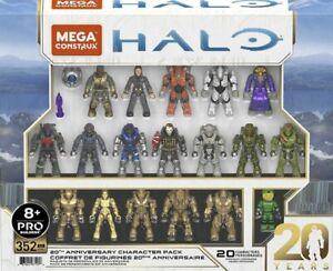 Mega Construx Pro Halo 20th Anniversary Character 5 Pack