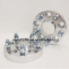 4 Pcs Hub Centric Wheel Spacers 5X114.3 60.1CB 12X1.5 25MM For IS LS tC MR2 Rav4