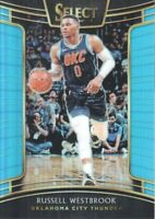 2018-19 Select Basketball Prizms Light Blue #91 Russell Westbrook /299
