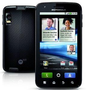 Motorola ATRIX 4G MB860 Black 4.0 inches Original Unlocked 5.0MP Camera WIFI