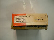SERIE FASCE PISTONI FIAT 1100 MOT.103/D8