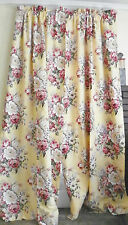 """RALPH LAUREN """"BROOKE"""" PAIR OF LINED DRAPES CURTAINS-86"""" LONG- 2 pairs available"""