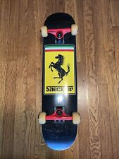 Plan B Ryan Sheckler Ferrari Skateboard Destructo Trucks Spitfire Wheel Complete