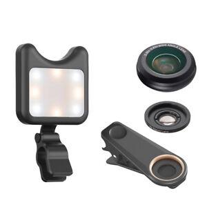 SONIQ Phone Lens & LED Fill Light With 9 Lighting Modes-Model: CDE001