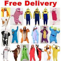 NEW Adult Unisex Pajamas Kigurumi Sleepwear Cosplay Costume Animal Ones Hallowma