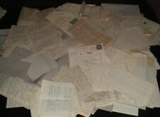 140 OLD vintage 1940s original  LETTERS TO COMBAT INTELLIGENCE OFFICER #16