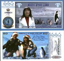 NEW POLYMER 2013 MARIE BYRD LAND 3/5 PENGUINO CHRISTINE MARIE FANTASY ART NOTE!