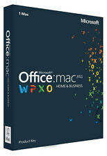 Microsoft Office for Mac Home and Business 2011 - 1 Mac Download License