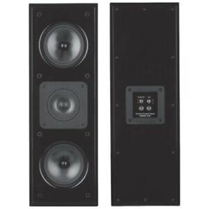 "Sonance - LCR1 Cinema Dual 5-1/4"" Passive 3-Way Speaker (Each) - Piano Black"