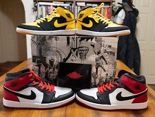 9813bc6736a8e6 AIR JORDAN 1 OLD LOVE NEW LOVE BMP BEGINNING MOMENTS PACK 316132-991 SIZE 11