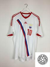 Russia ARSHAVIN #10 11/13 Away Football Shirt (L) Soccer Jersey Adidas
