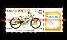 WANDERER 98 1939 - NICARAGUA : Timbre Poste Moto Collection Stempel Stamp