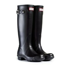 WAREHOUSE SALE New Ladies Original Hunter Wellies Wellington Boots Black Size 6