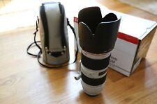 Canon EF 70-200 f/2.8L IS II Telephoto Zoom Lens. Used, excellent condition