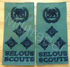 Rhodesia Rhodesian Army Selous Scouts Brigadier General Epaulets