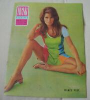 Raquel Welch Ursula Andress inside FILMSKI SVET Yugoslavian April 1969 VERY RARE