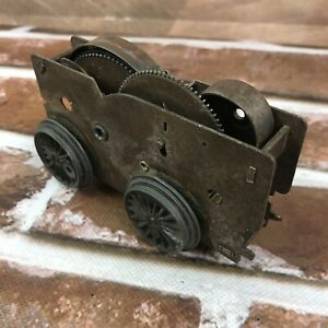 Vintage Marx Wind up metal mechanical toy train locomotive Part