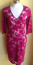 Lisa Barron Floriade Dress Size16 NWOT RRP $540.00