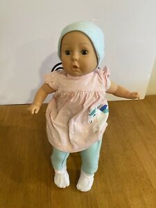 Vintage 1988 Cititoy T15 Baby Doll Dressed in New Preemie Clothes Eyes Open Shut