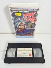 They Live VHS Video Tape Guild