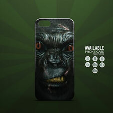 awesome gorilla angry  phone case for iPhone 4, 4s, 5, 5s, 5c, 6, 6plus
