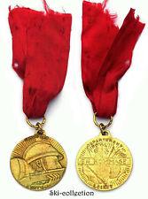 Médaille Commémorative EN HOMMAGE, 1918-1968. Département Loiret. Dorée
