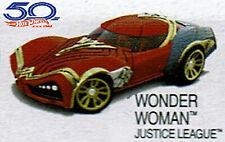 Hot Wheels Character Car - Wonder Woman DC Justice League