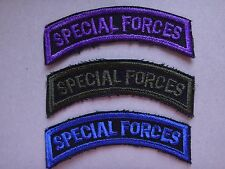 Set Of 3 US Army SPECIAL FORCES Arc Patches