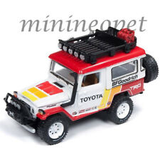 JOHNNY LIGHTNING JLCP7149 1980 TOYOTA LAND CRUISER TRD 1/64 RED / WHITE