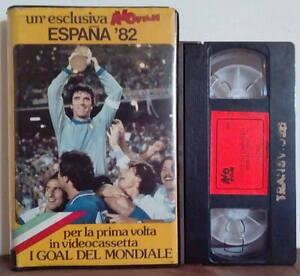 VHS Ita Sportivo ESPANA'82 I Goal del Mondiale Vol.1 ex nolo no dvd cd lp (V18)