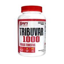 SAN TRIBUVAR 1000 Tribulus Testosterone Boost 90 Tabs 45% Saponins PCT SEX DRIVE