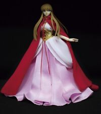 SAORI OCE PINK DRESS WITH RED CAP MYTH CLOTH SAINT SEIYA FOR COLLECTION FIGURES