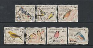 Czechoslovakia - 1959, Birds set - F/U - SG 1120/6 (b)