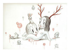 "Gary Baseman ""Venisom's Dream"" Book Page = Frame it anyway you want!"