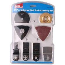Hilka 50910027 PC de 27 piezas Juego de Accesorios Multi Herramienta Lijadora Universal Kit De Corte