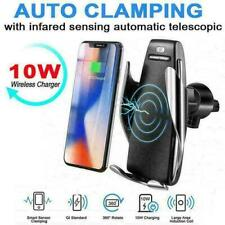 Qi Wireless Car Charger Dock Windshield Air Vent Mount Holder for Mobile Phone