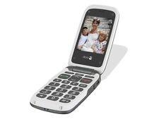 Doro Teléfono fácil 612 611 Negro Gris Fácil De Usar Libro Cámara LIBRE grado A