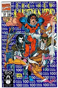 NEW MUTANTS #100  1st X-FORCE  High Grade! VF/NM  X-FORCE Movie!  HOT!  1991