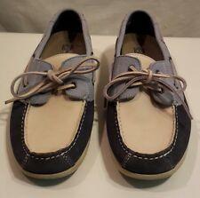 Rockport Boat Shoes Men's 7M Washable Leather Deck Dock Moccasin Slip-On Loafers
