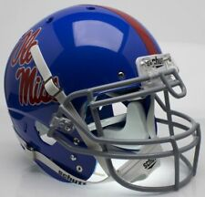 MISSISSIPPI OLE MISS REBELS NCAA Schutt XP Full Size AUTHENTIC Football Helmet