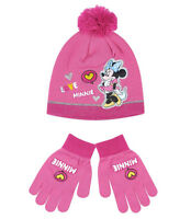 Boys Girls Kids DISNEY MARVEL Character Winter Hat And Gloves 2 pieces set 52-54