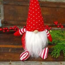 GRANDE Nuovo di Zecca Babbi Natale Piccolo Aiutante Natale Decorazione Giardino