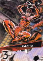 2015 UPPER DECK MARVEL 3D CARD #46-3D ELEKTRA