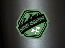 1 x adhesivo nature Adventure bosque Ka-Boom Static decal sticker Fun gag fbi ill