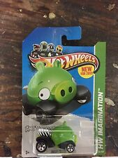 Hot Wheels Angry Birds Minion Pig Diecast Car