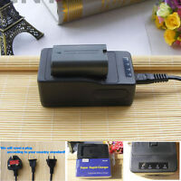 Battery+ SUPER Quick charger for PANASONIC CGR-D120 NV-DS60 NV-DS15 NV-DS27