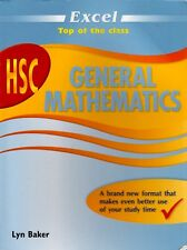 Excel HSC General Maths By Lyn Baker (XL Paperback - Study Guide)
