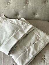 Restoration Hardware Italian Siena 1000-Thread-Count Sateen and Velvet Shams