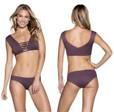 Maaji Women's Fig Divine Reversible Strappy Bikini Top Size XL